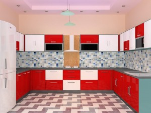 modular kitchen interiors in Gurgaon